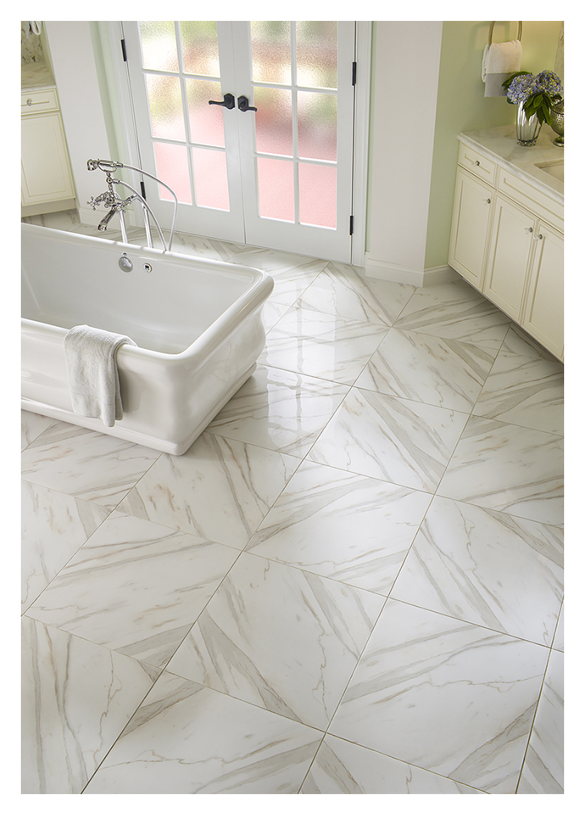 Top 5 design trends 2016 wood porcelain mosaics white marble dailygadgetfo Images