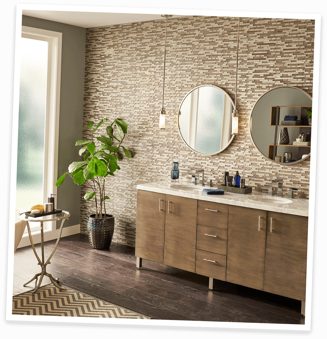 top 5 design trendsmsi subway tile, marble look quartz, quartz