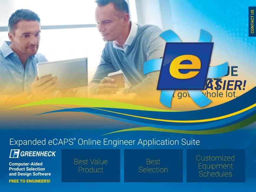 Greenheck eCAPS Engineer Application Suite