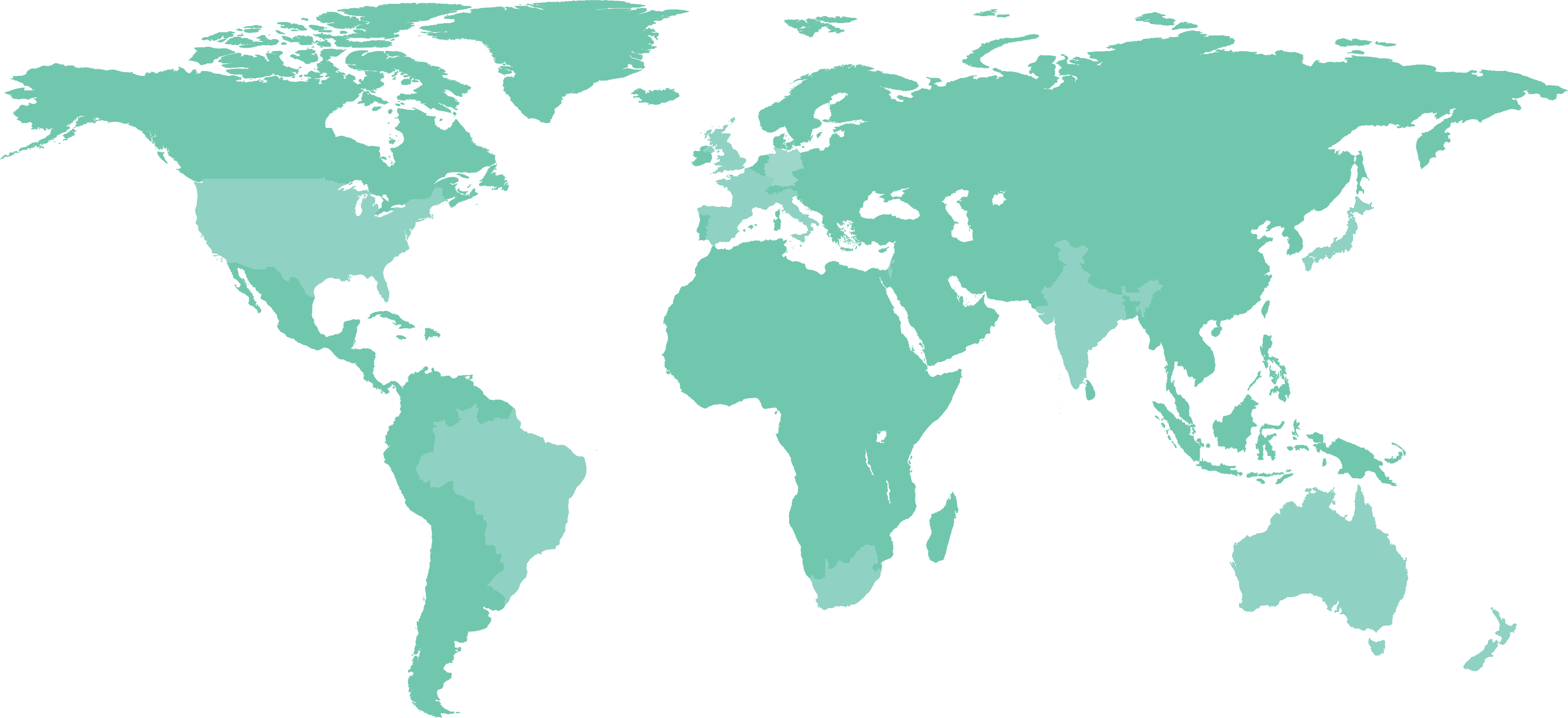 Global Content Marketing Map