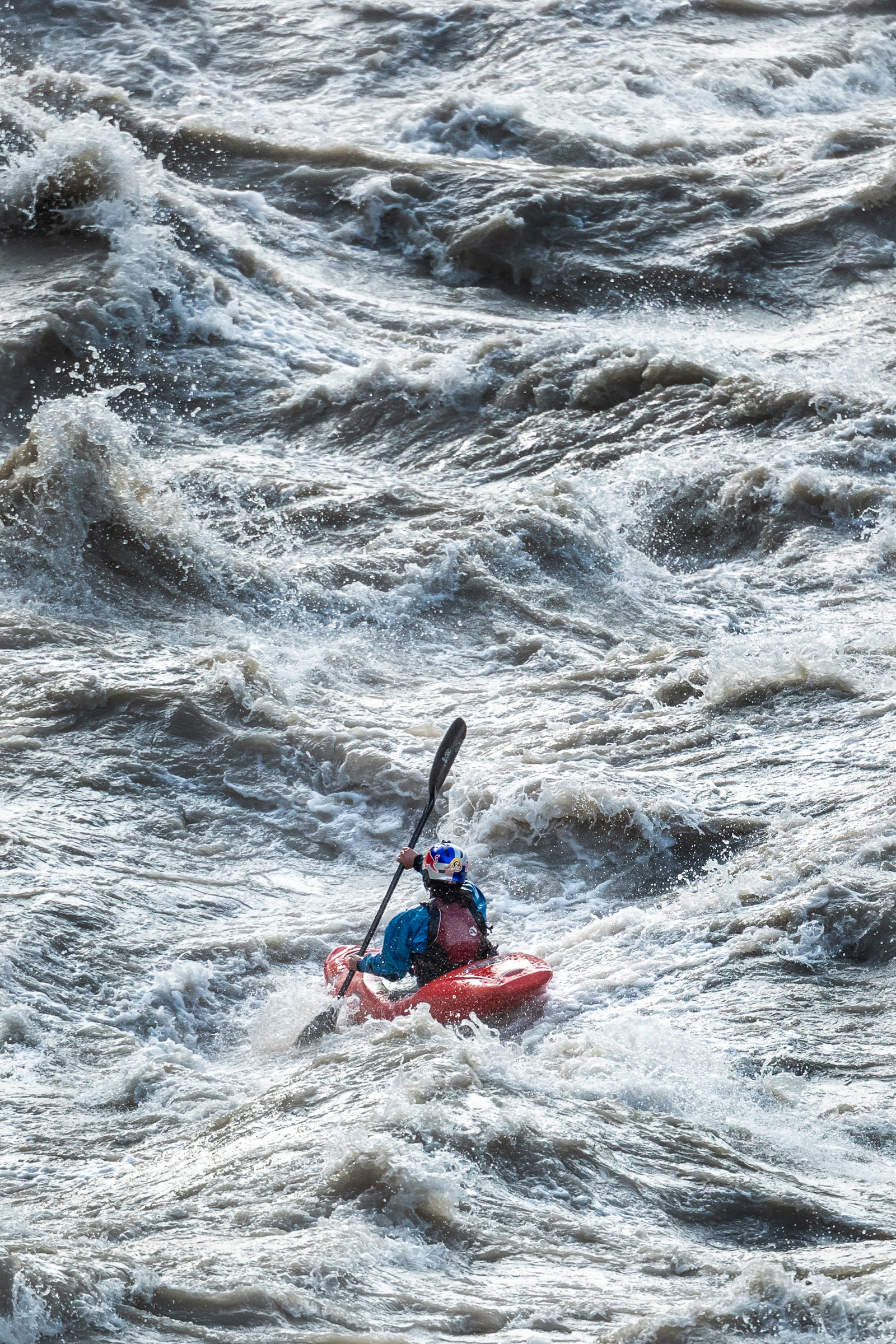 This is the story of Nouria Newman's solo adventure in India. RedBull. Ladakh. Indus River. Kayaking. Kayaks.