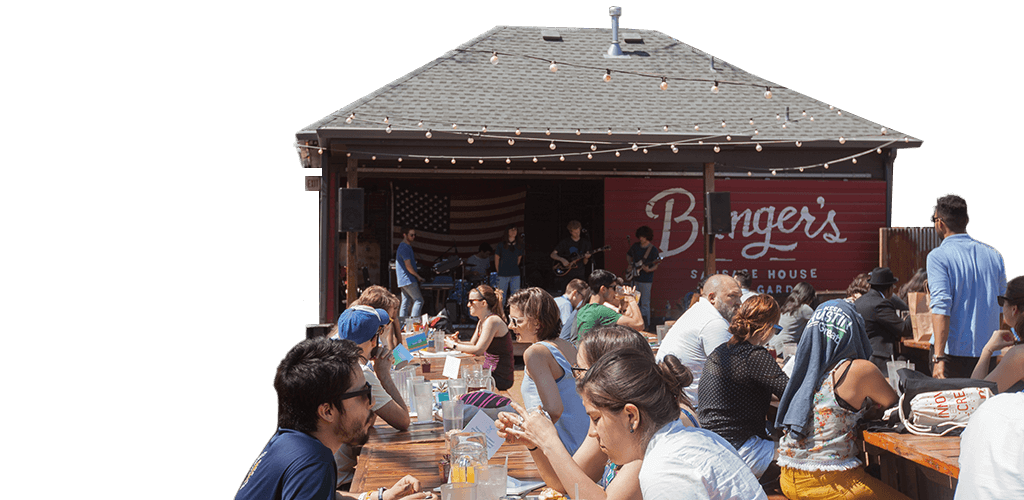 Top Livable Cities for 2016 - Austin Texas - Arts & Entertainment - Sunny Outdoor - Alternative Band Playing - People eating on benches