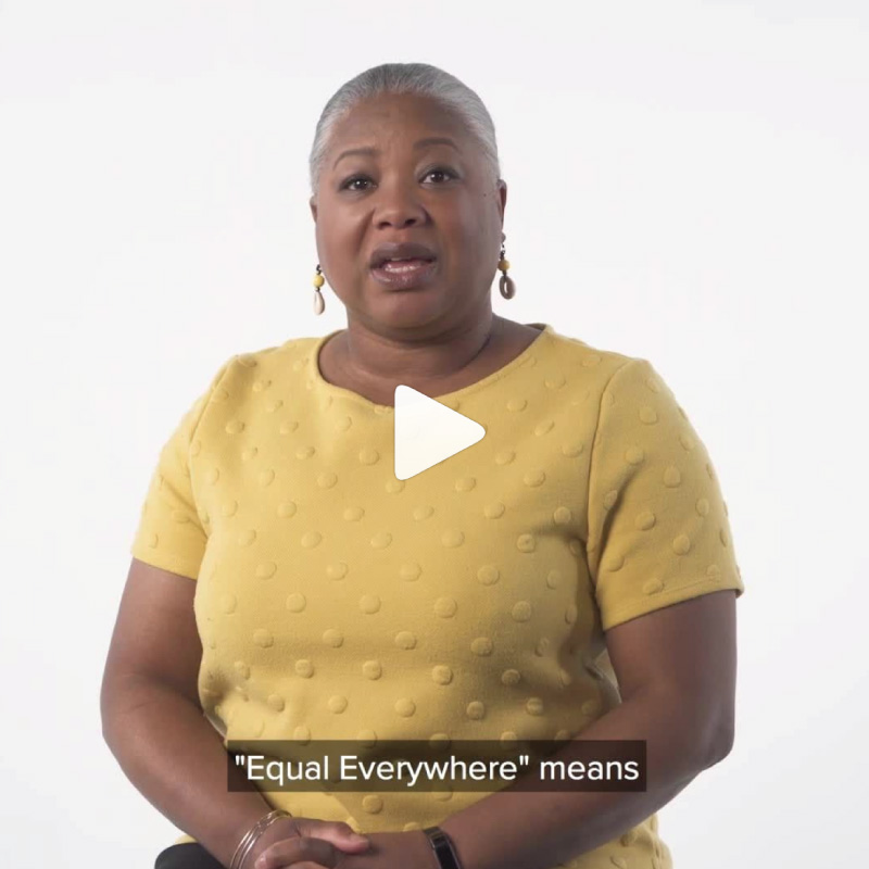 What Equal Everywhere Means to Us