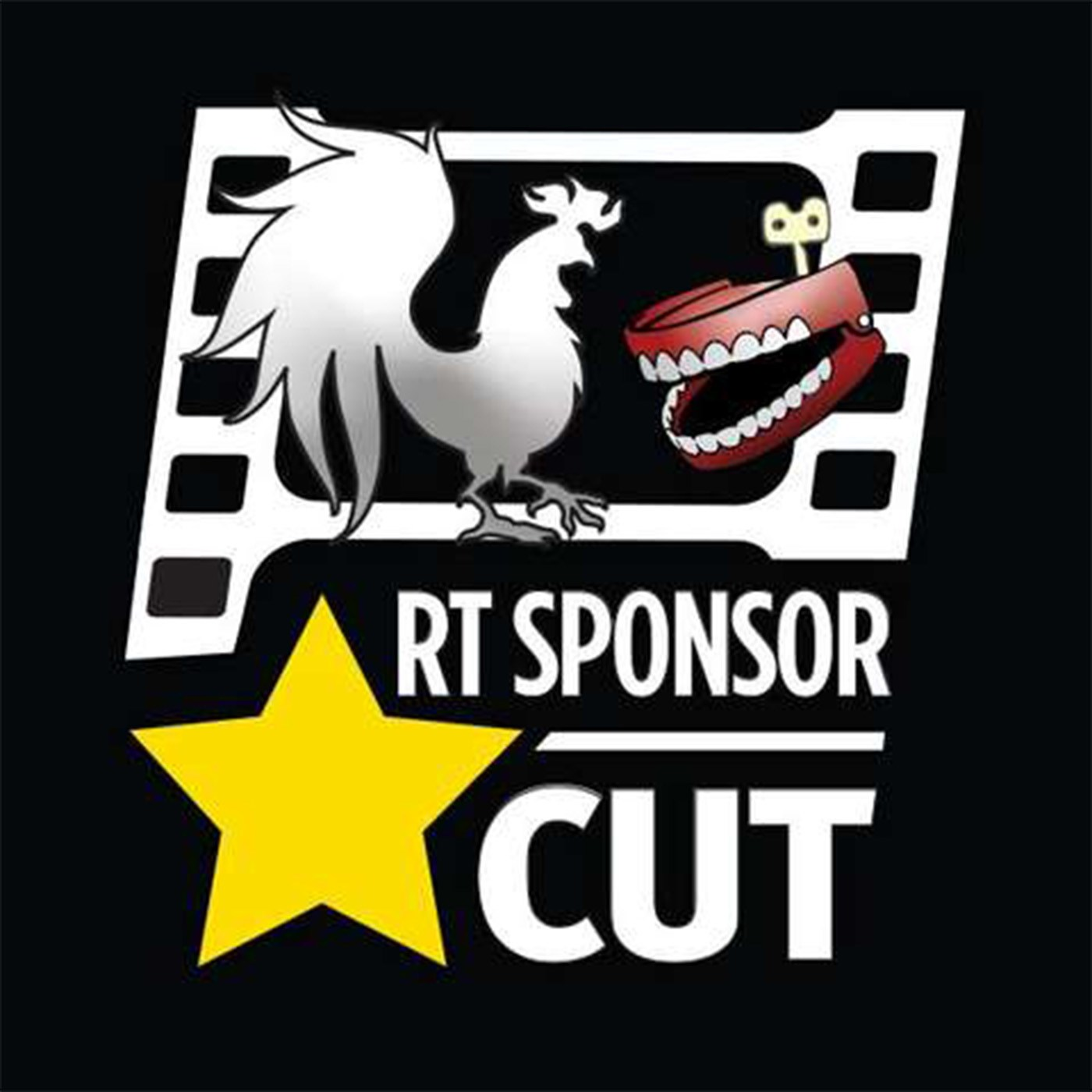 Rooster Teeth Sponsor Cut Logo