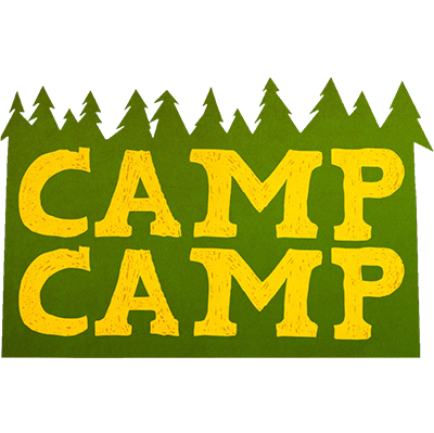 Camp Camp Rooster Teeth Square Logo