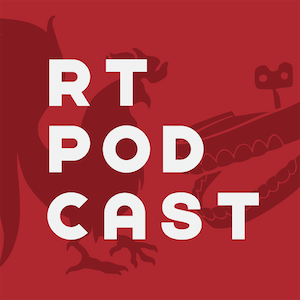 RT Podcast Rooster Teeth Square Logo