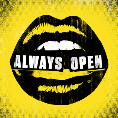 Always Open Rooster Teeth Square Logo