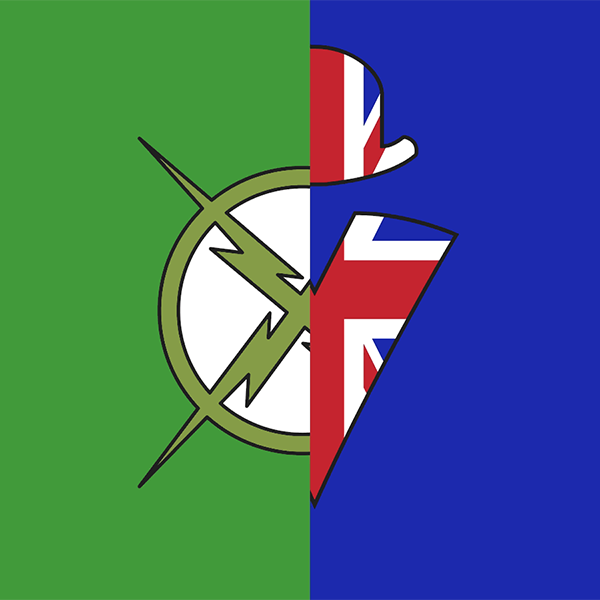 Xray and Vav Logo Rooster Teeth
