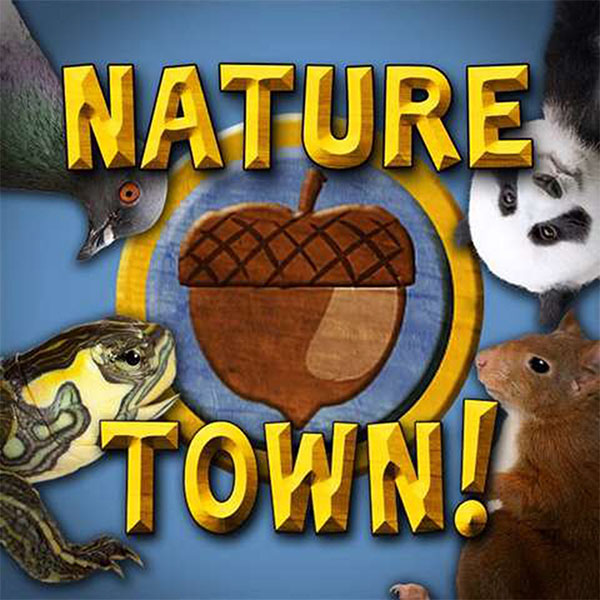 Nature Town Rooster Teeth Logo