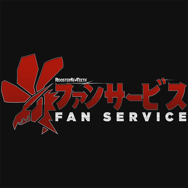 Fan Service Rooster Teeth Square Logo
