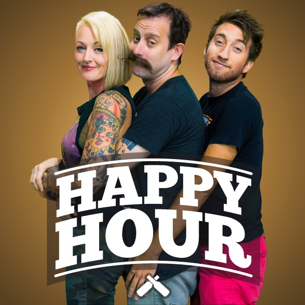 Happy Hour Rooster Teeth Square Logo