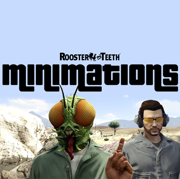 Minimations Logo Rooster Teeth