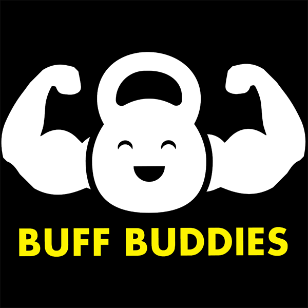 Buff Buddies Rooster Teeth Square Logo