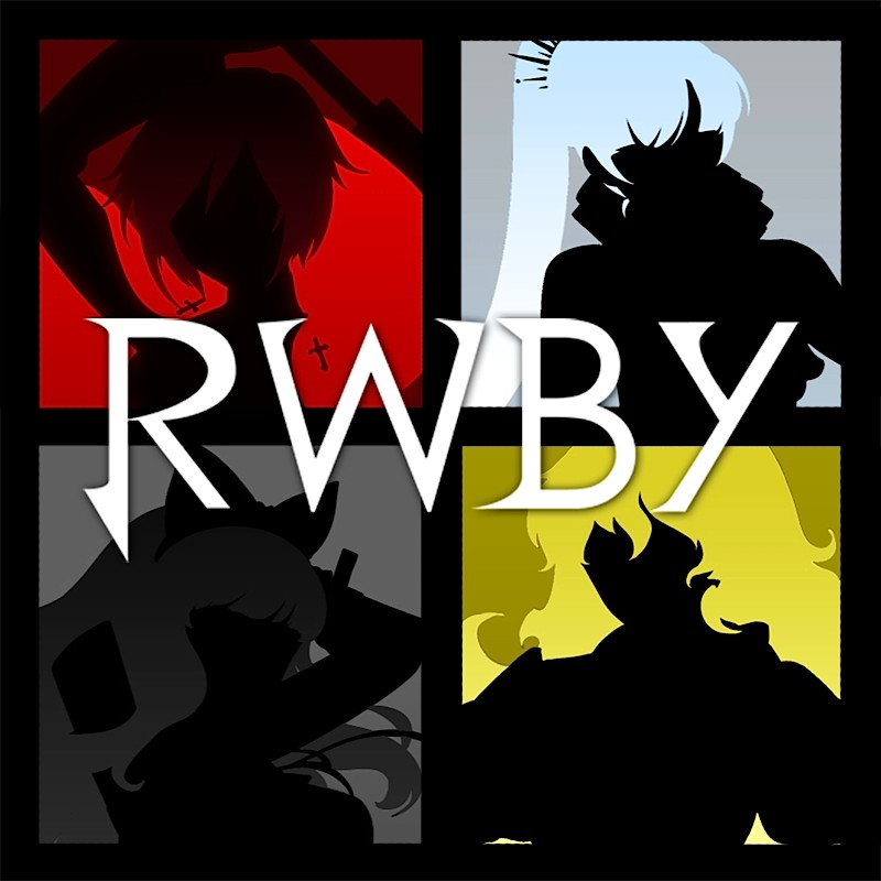 RWBY Logo Rooster Teeth