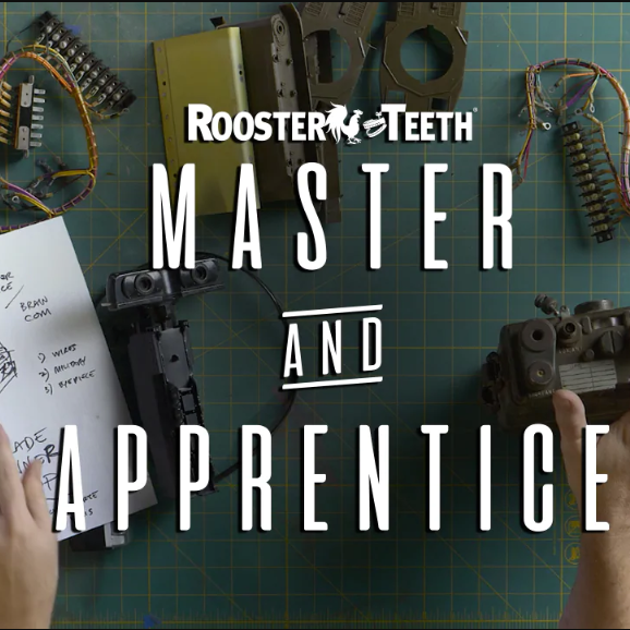 Master and Apprentice Logo Rooster Teeth