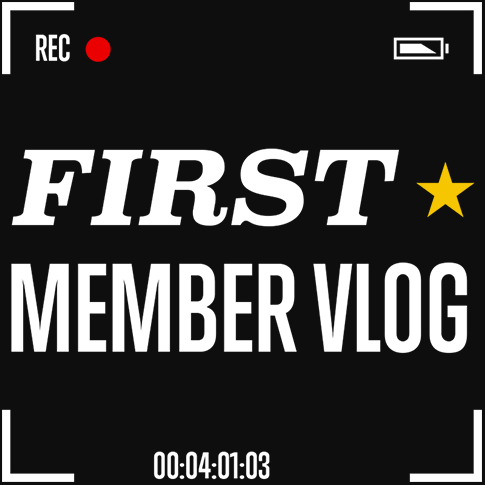 First Member Vlog Rooster Teeth Square Logo