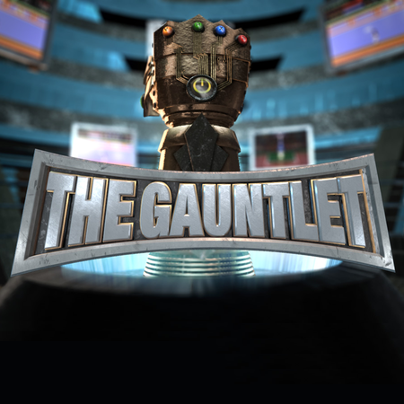 The Gauntlet Logo Rooster Teeth