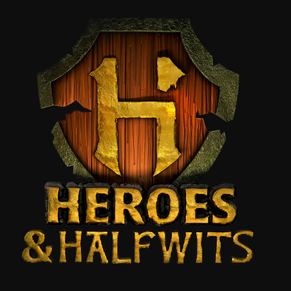 Heroes and Halfwits Logo Achievement Hunter