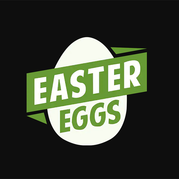 Easter Eggs Logo Achievement Hunter