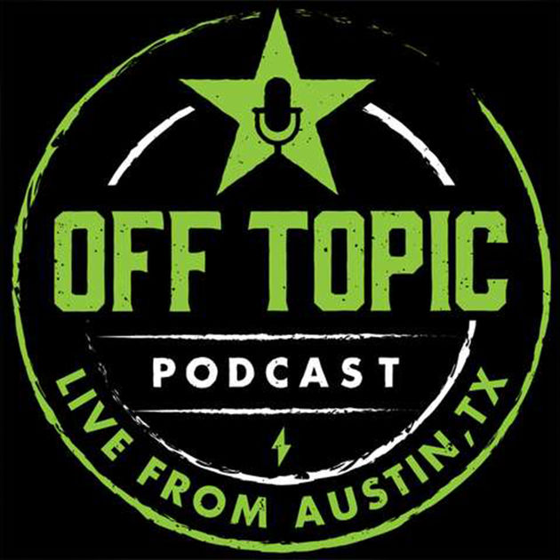 Off Topic Podcast Logo Achievement Hunter