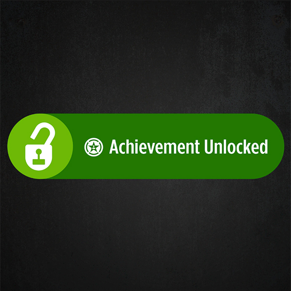 Achievement Unlocked Logo Achievement Hunter
