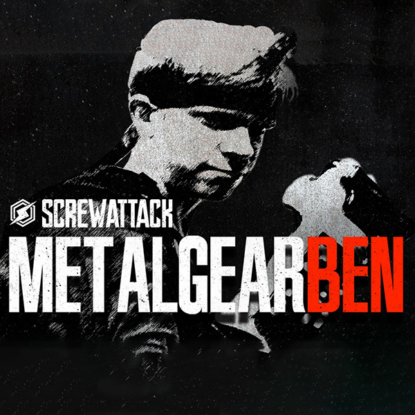Metal Gear Ben Logo ScrewAttack
