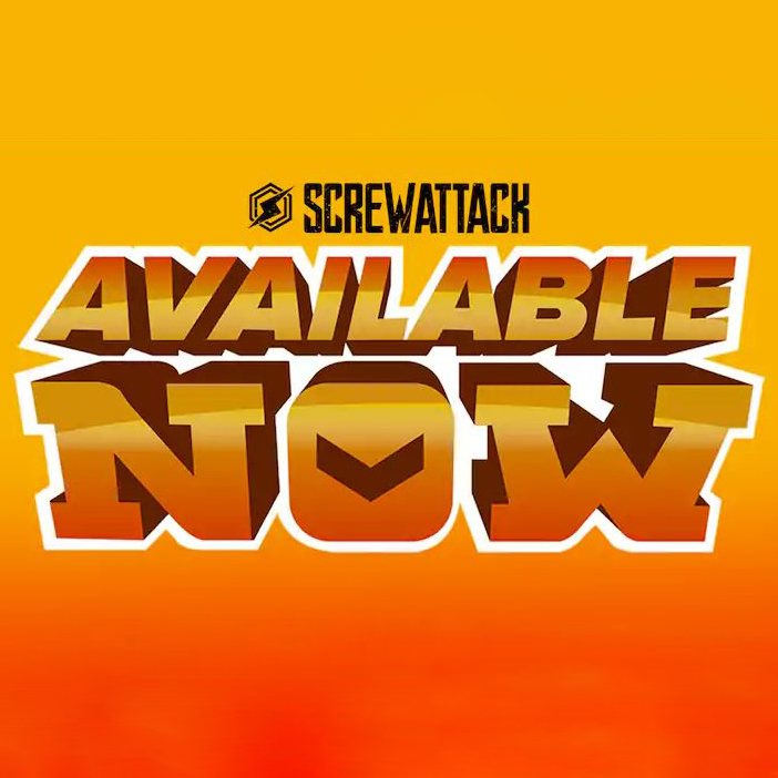 Available Now Logo ScrewAttack