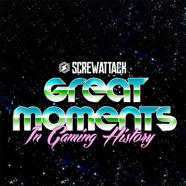 Great Moments in Gaming History Logo ScrewAttack