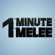 One Minute Melee Logo ScrewAttack