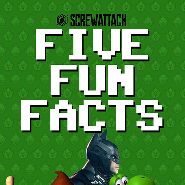 Five Fun Facts Logo ScrewAttack