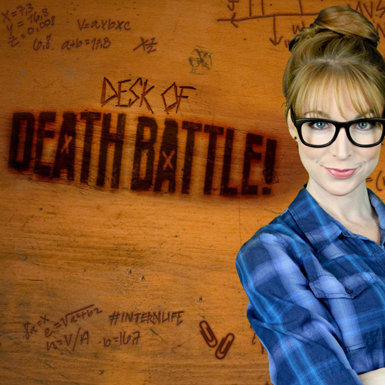 Desk of Death Battle Logo ScrewAttack