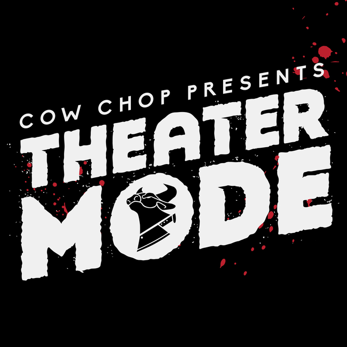 Theater Mode Logo Cow  Chop