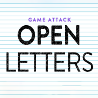 Open Letters Logo Game Attack