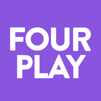 Four Play Logo Game Attack