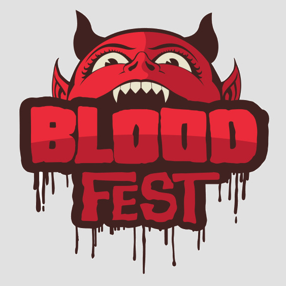 Bloodfest Logo Rooster Teeth