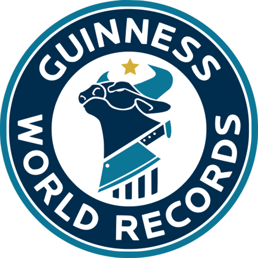 Guinness World Records Cow Chop