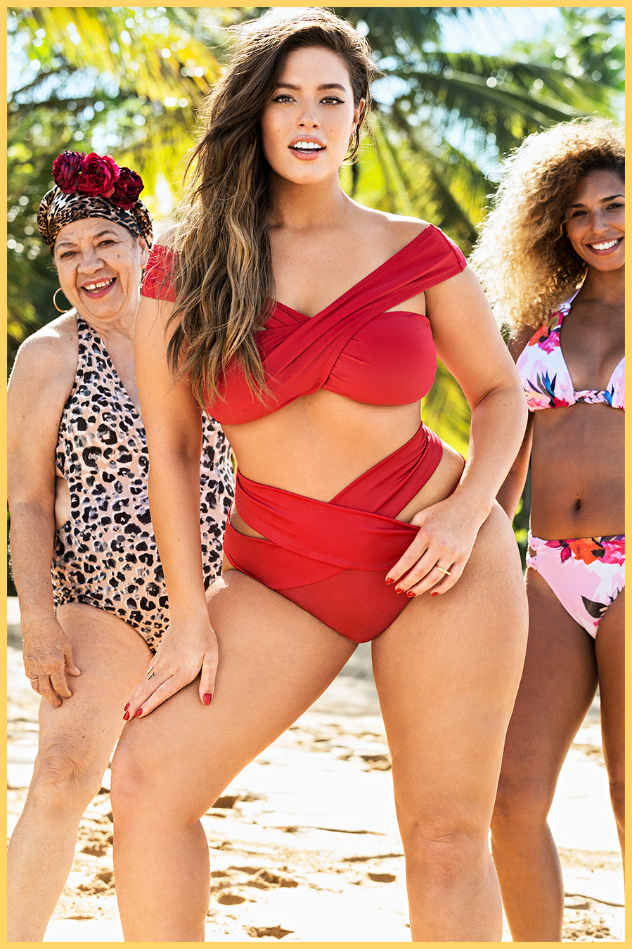 Ashley Graham x Swimsuits For All