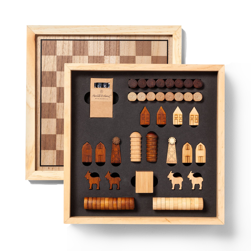 A Hearth and Hand checkerboard set