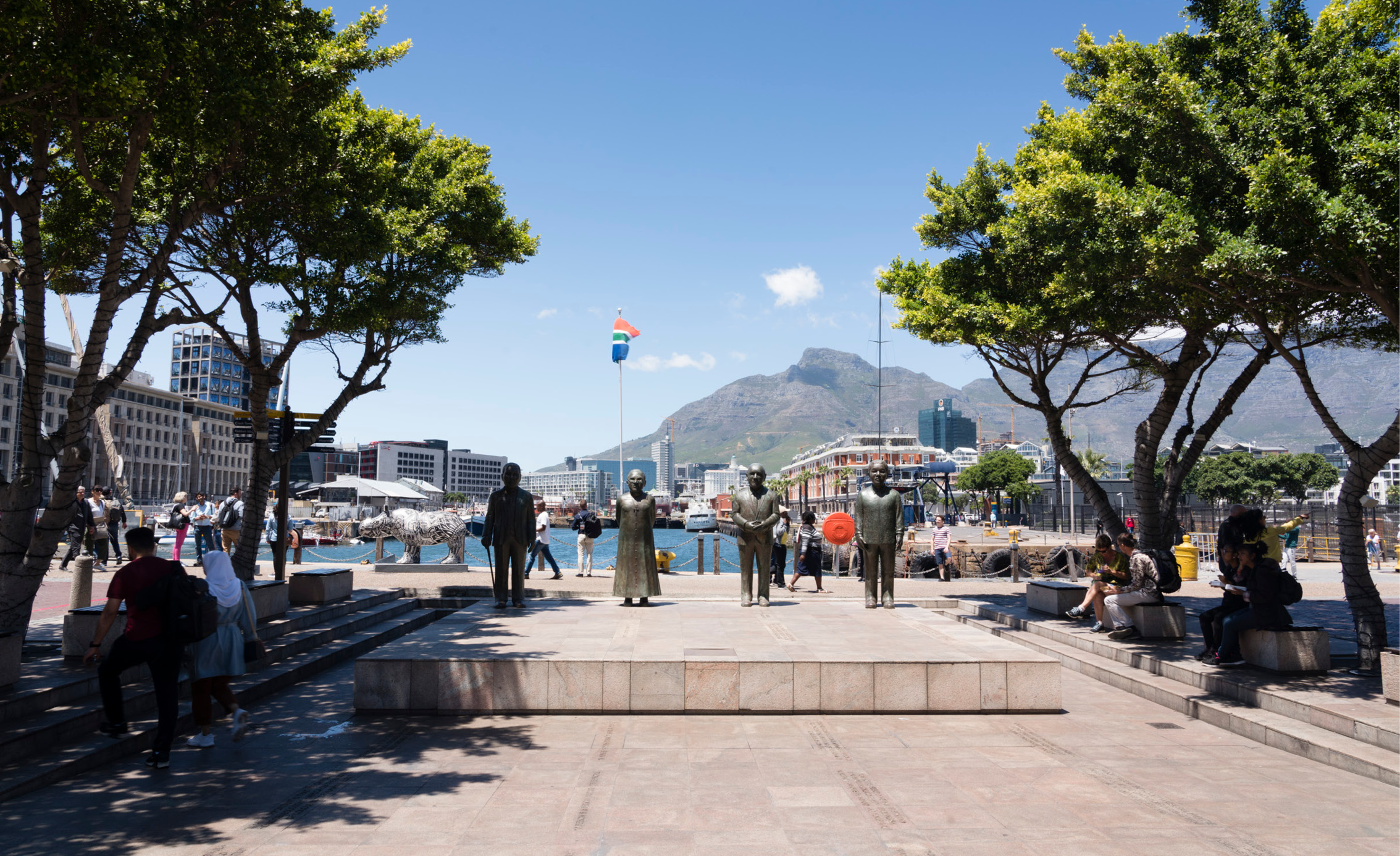 cape town city monument memorial statues