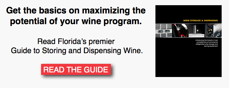 Florida Guide to Storing and Dispensing Wine