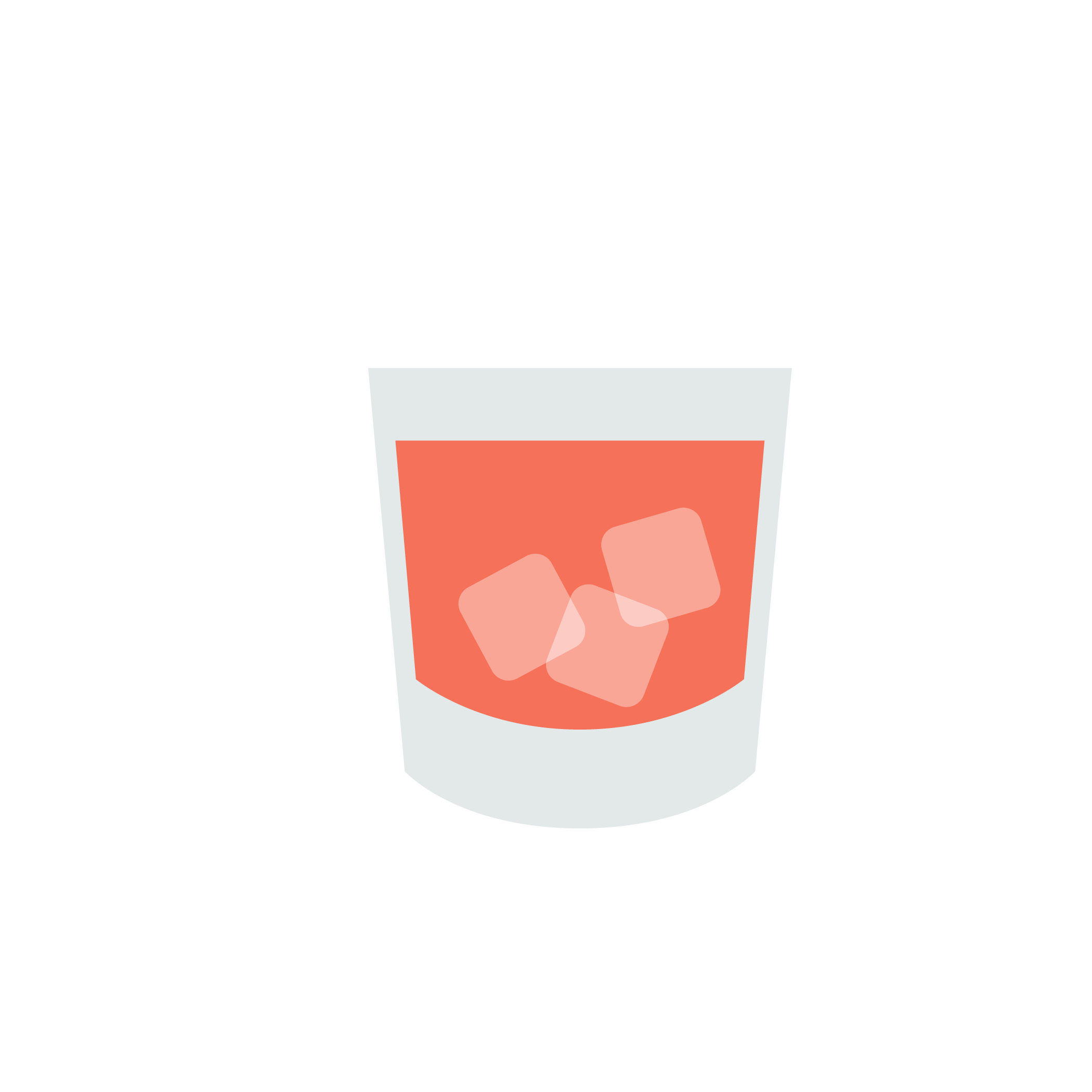 Dealer's Choice: whiskey on the rocks icon