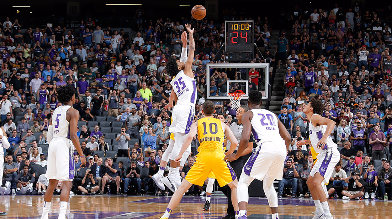 c47bae256 The Kings opened the 2018-19 season at Golden 1 Center versus the Utah Jazz.  The highly anticipated start of the season was finished off by a  performance ...