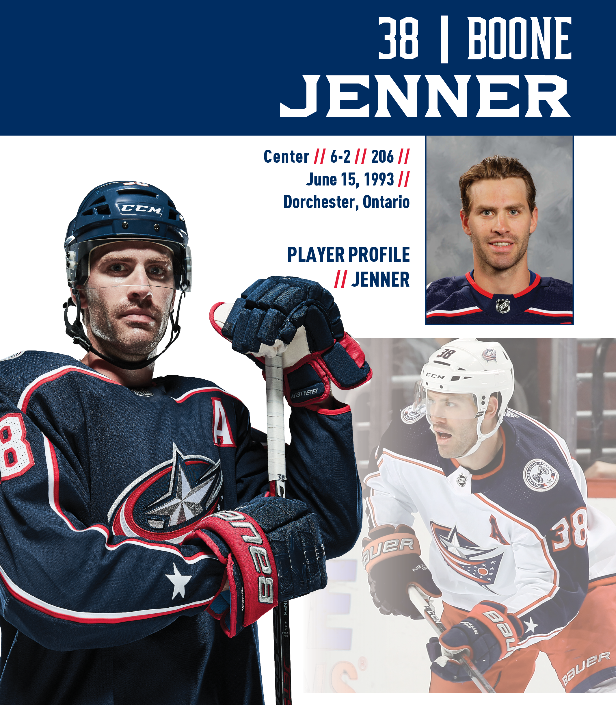 Columbus Blue Jackets Yearbook  21223c807