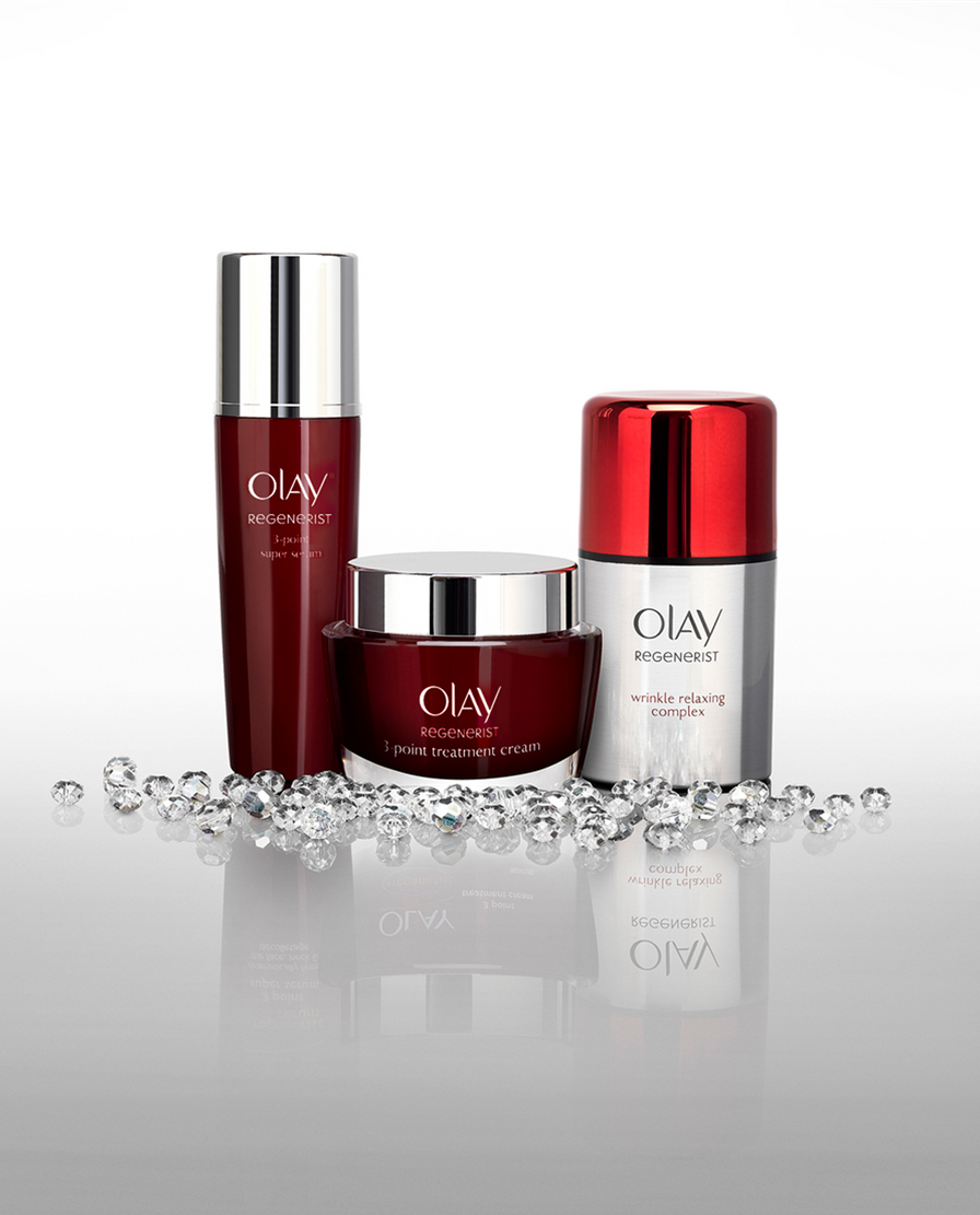 rhapsody, photography production, Olay cosmetics, packshot