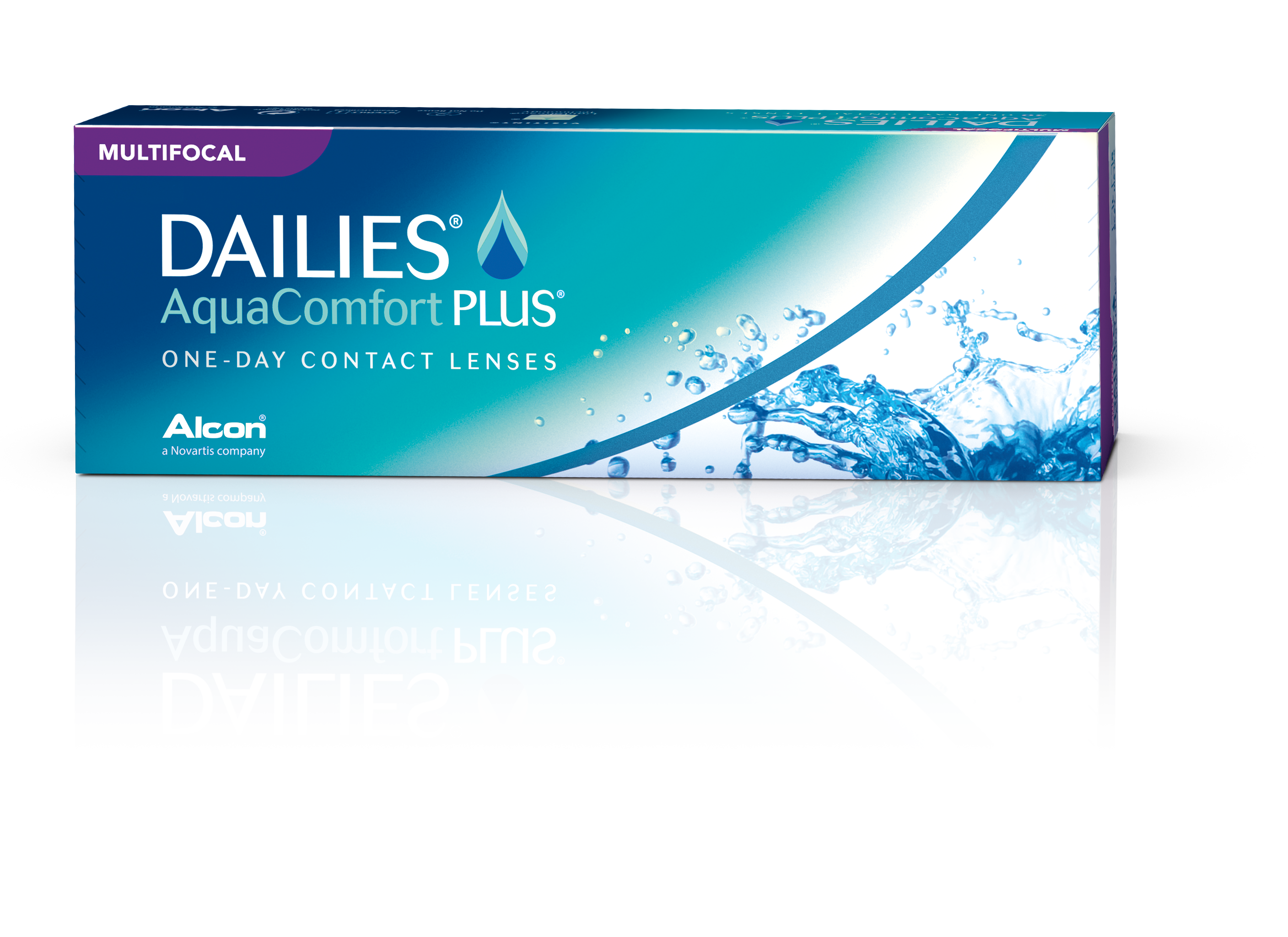 Alcon DAILIES® AquaComfort PLUS® Multifocal Daily Disposable Contact Lenses