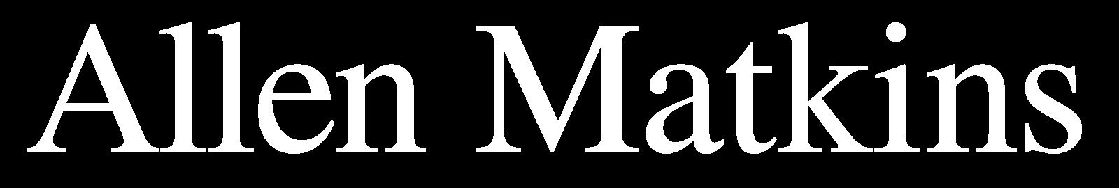 White Allen Matkins logo