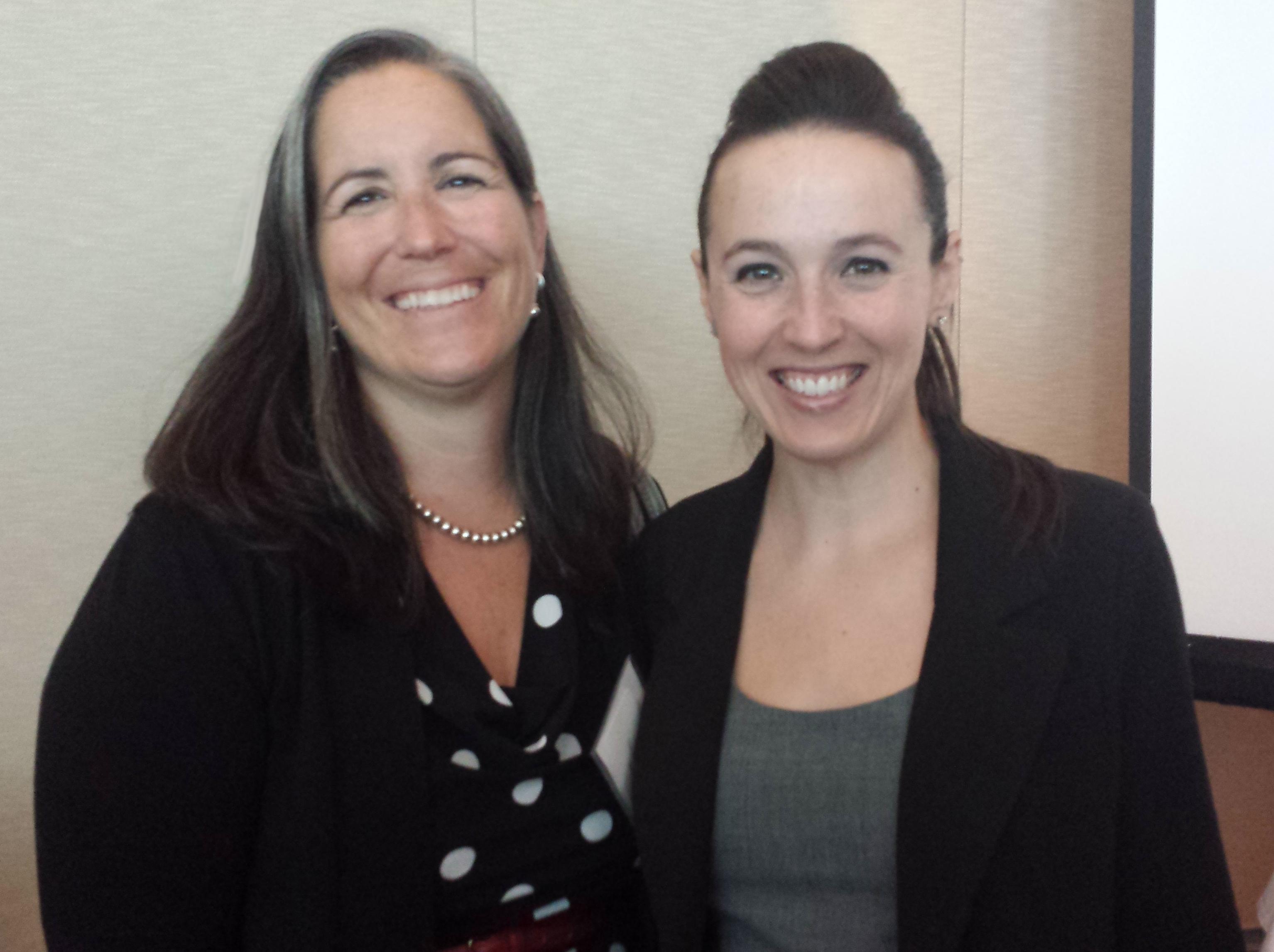 Image of Sara Anderson and Sara Neff.