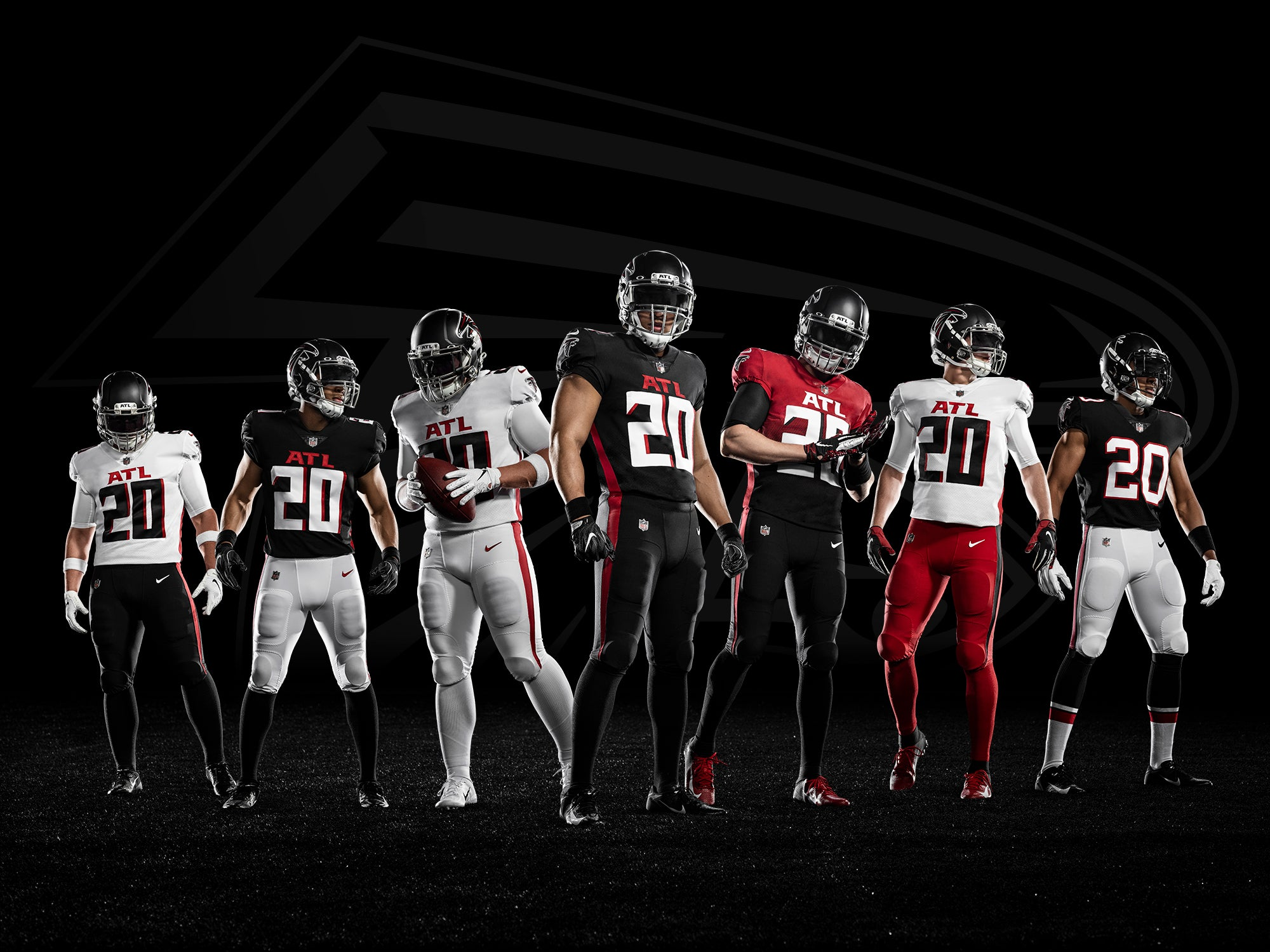 Full Closet Hero Composite of all different combinations of jersey tops and bottoms