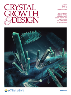 Crystal Growth & Design cover