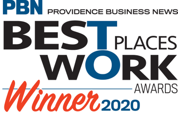 PBN Providence Business News Best Places to Work Awards Winner 2020